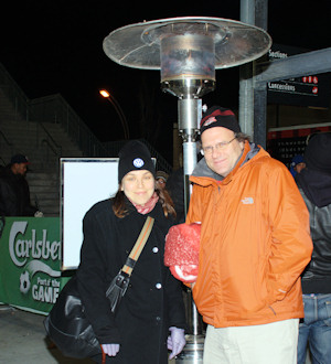 Patio Heaters at BMO Field