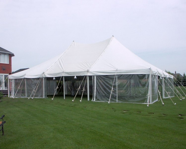 30 X 45 Tent with panorama side walls