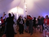 Night Tent with Lighting and Dance Floor